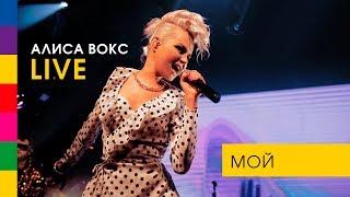Алиса Вокс - МОЙ (LIVE. Живой Звук. Упругий ПОП-Концерт)