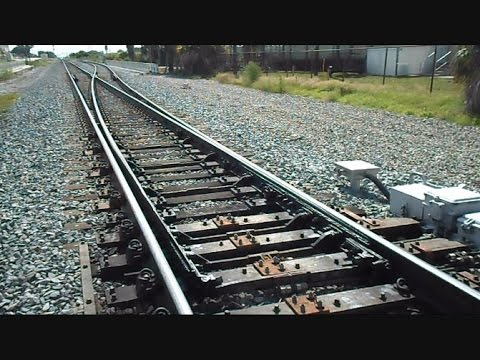 Amtrak & CSX Track Switches At The Junction For Four Trains