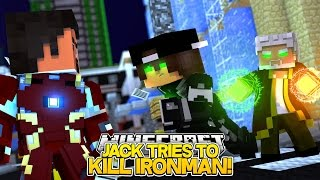 Minecraft Adventure - JACK IS POSSESSED AND TRIES TO KILL IRONMAN