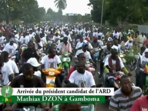 Mathias Dzon - Législatives 2012 - Gamboma