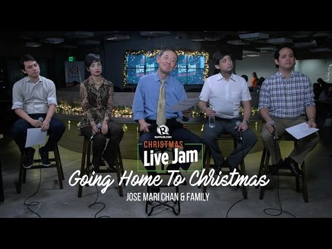 Jose Mari Chan and family perform 'Going Home to Christmas'