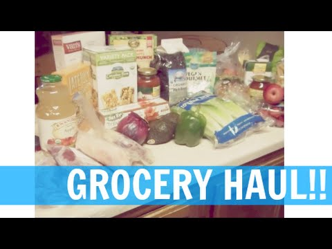 NEW COMPUTER!! First ALL ORGANIC/NON-GMO GROCERY HAUL!
