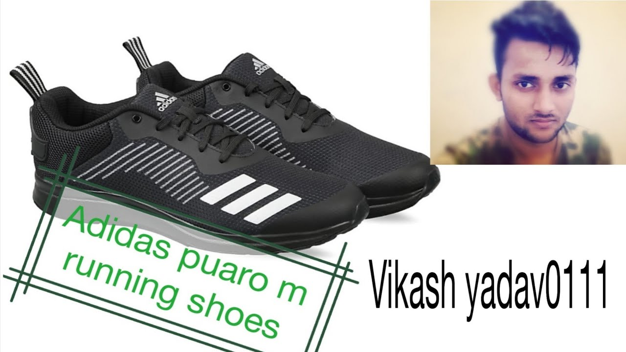 c44ef12778 Review for adidas puaro M shoes - YouTube