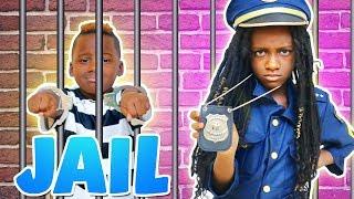 Police Kid SideWalk Patrol  (Pretend Play)