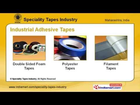 Industrial Adhesive Tapes By Speciality Tapes Industry, Mumbai