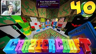 "Minecraft Crazier Craft #40 ""ALL 5 TIER 5  SUPER HEROS!"""