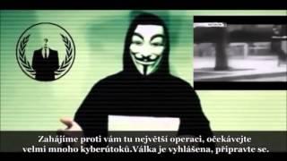 Anonymous vyhlásili válku Islámskému státu (české titulky)