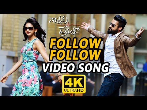 Follow Follow Full Video Song || Nannaku...