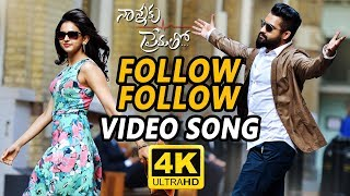 Follow Follow Full Video Song || Nannaku Prematho || Jr Ntr, Rakul Preet Singh thumbnail