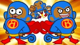 Bloons TD Battles! - SUPER MONKEY TIME! - Bloons Tower Defense Online