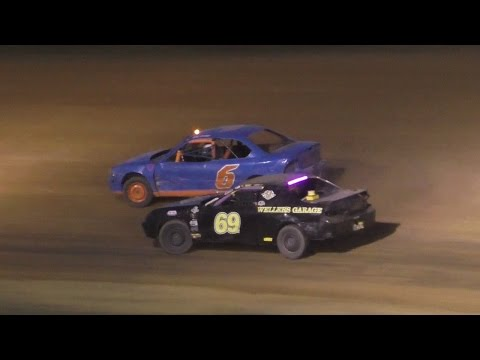 Mini Stock Heat Three   McKean County Raceway   Fall Classic   10-15-16