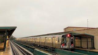 NYC Subway | R143, R160 & R179 (J/Z) Trains @ 75th St - Elderts Ln & Cypress Hills