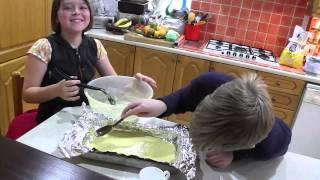 Baz's Hobbies - 21b - Easy Orange And Lemon Cake - Favourite Cookies For Granddad Baz!