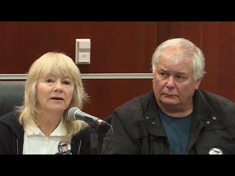 The People's Tribunal on the Iraq War, Day Two: Joyce and Kevin Lucey