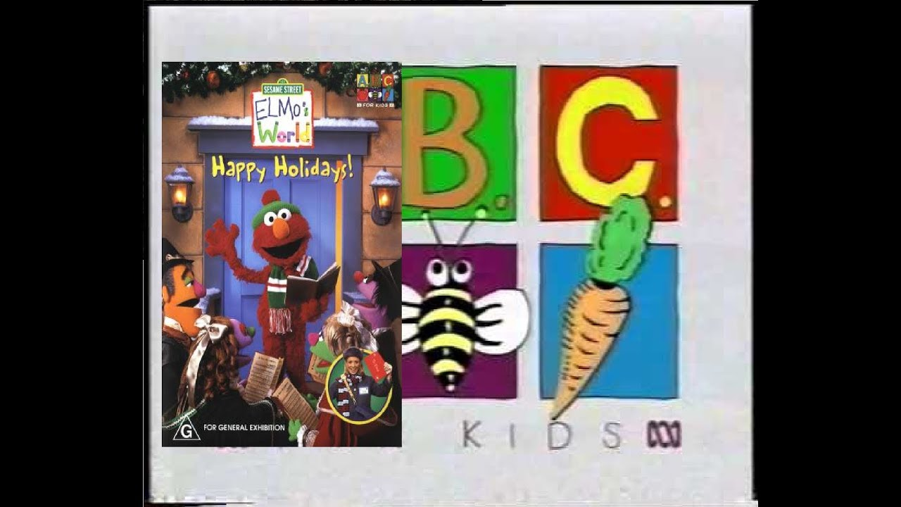 Opening And Closing To Sesame Street Elmo S World Happy Holidays 2008 Dvd Australia