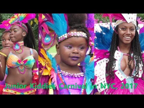 Children's Carnival: West Indian American Day Junior Carnival Parade 2017