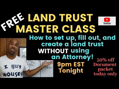 Land Trust Master Class, Expires At Noon