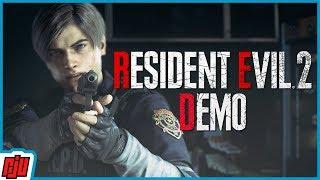 Resident Evil 2 Remake 1-Shot Demo   PC Horror Game   RE2 Remake Gameplay
