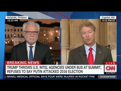 Sen. Rand Paul Calls Out Trump Derangement Syndrome on CNN
