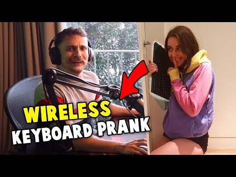 Wireless Keyboard PRANK ft. Cray