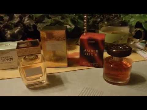 духи орифлейм - giordani gold essenza и amber elixir