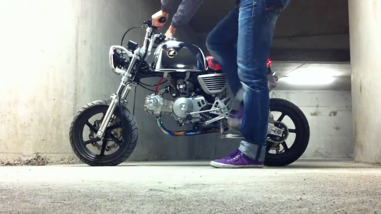 Honda Z50 Monkey Gorilla UPDATE 1 / Takegawa - Kitaco - Over - Gcraft - Baja - YouTube