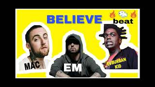 Mac Miller x Eminem x kodak black ft j cole type beat Believe VileSky