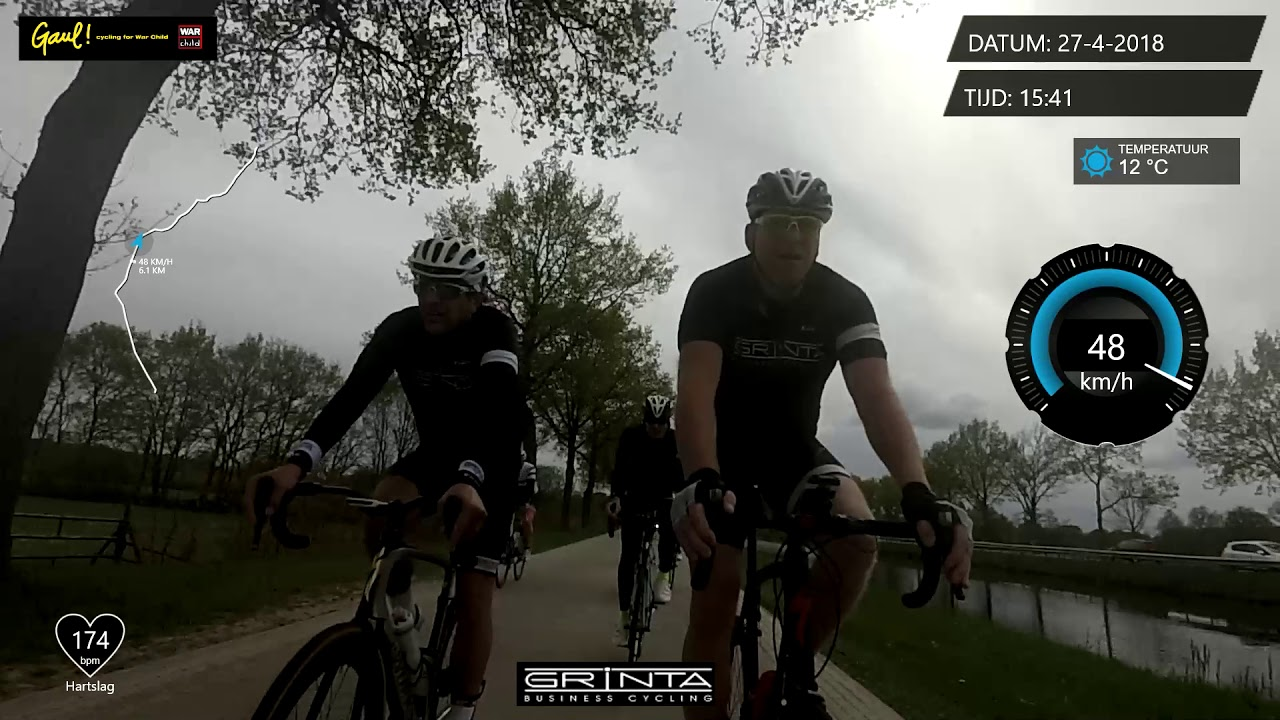 6b83d56aa Grinta Business Cycling (2018 april 27e) finale Dwingeloo - laatste 10  kilometer