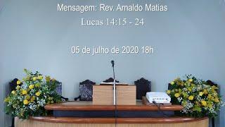 Culto 05 de julho de 2020 18h
