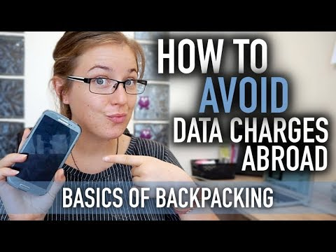 HOW TO AVOID DATA CHARGES WHILE TRAVELLING! | Basics of Backpacking #7