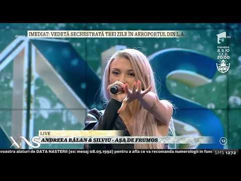 LIVE! Andreea Bălan & Silviu - Așa de frumos