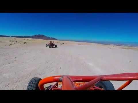 Sun Buggy Dune Buggy Mini Baja Chase Las Vegas FULL TOUR GoPro Hero 3+ Black Edition