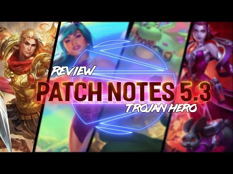 PATCH NOTES 5.3: SMITE FINALLY HAS ACHILLES!!! - Incon