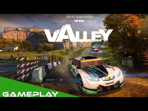 Trackmania² valley gameplay |