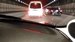 2016年10月7日 東名高速 海老名SA 渋滞