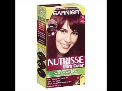 Garnier Nutrisse Ultra Color Permanent Haircolor R3 Light Intense