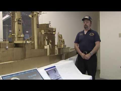 USS ALBANY Brass Test Model Interview