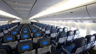 United Airlines 777-222 trip report ORD-BRU