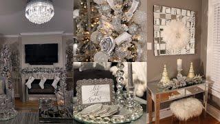 GLAM CHRISTMAS HOME DECOR TOUR  || HOME UPDATES || 2018