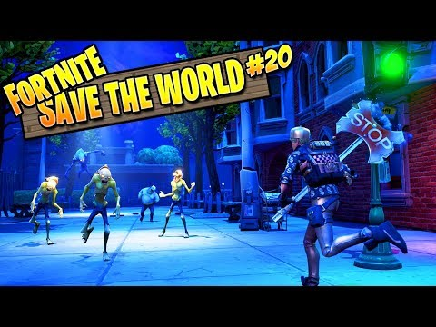 Fortnite Zombies | Save The World Ep 20: WALL-E (Fortnite PVE Campaign)