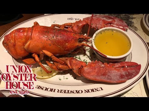 Union Oyster House Boston - AWESOME