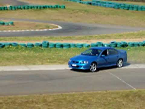 Ford Falcon XR8 Drifting, Oran Park Raceway, Warren Luff