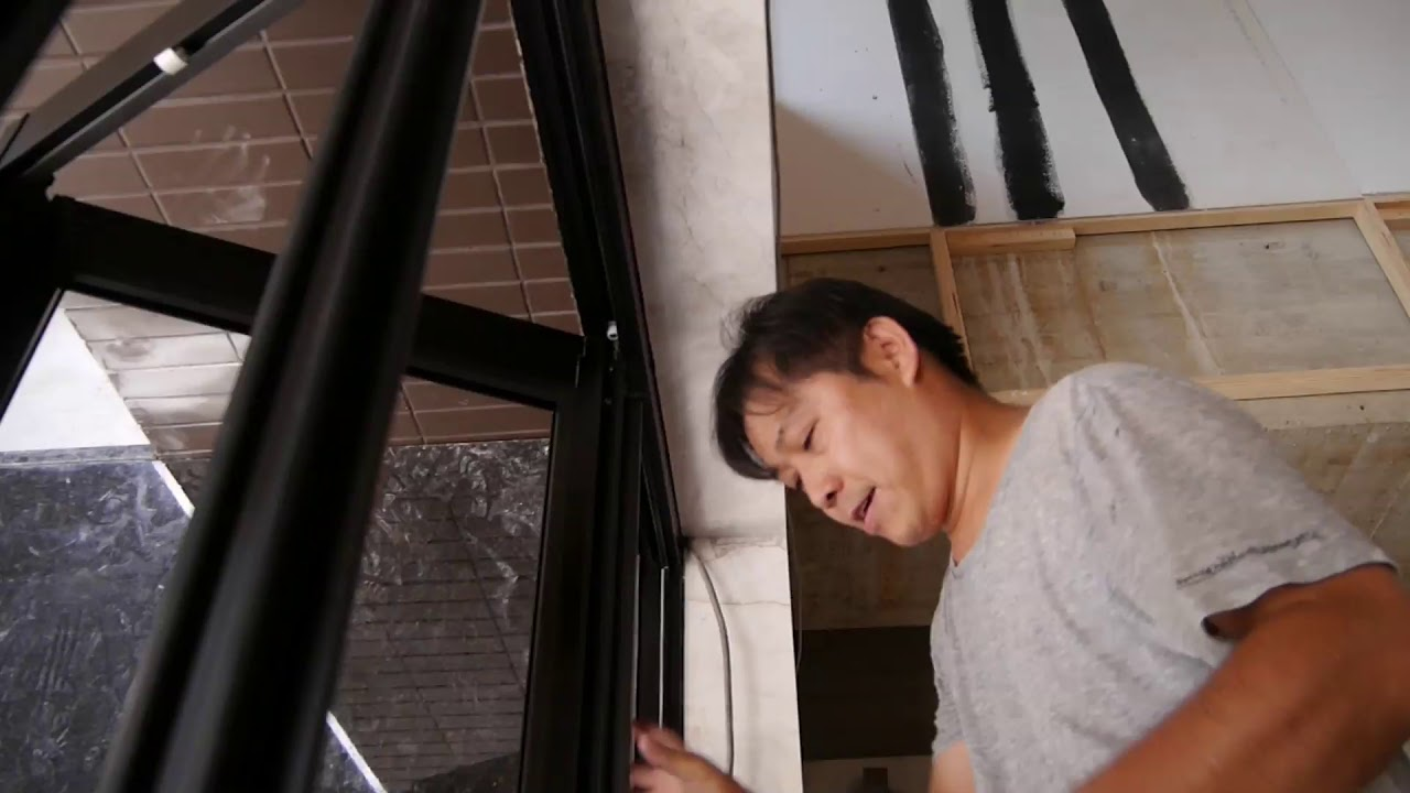 折疊鋁門窗施工工序介紹