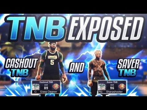 HG VS TNB! CASHOUT & SAVER TNB EXPOSED! NADEXE CLAN EXPOSED! MUST WATCH! NBA 2K17 MyPark Gameplay