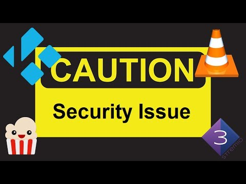 ⚠ IMPORTANT SECURITY ISSUE KODI VLC - UPDATE AS SOON AS POSSIBLE!!!