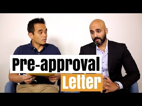 What is a mortgage pre-approval letter and what's it used for?