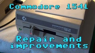 Commodore 1541: Repair and improvements