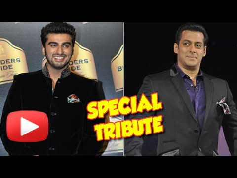 Arjun Kapoor's Special Tribute To Salman Khan – WATCH NOW