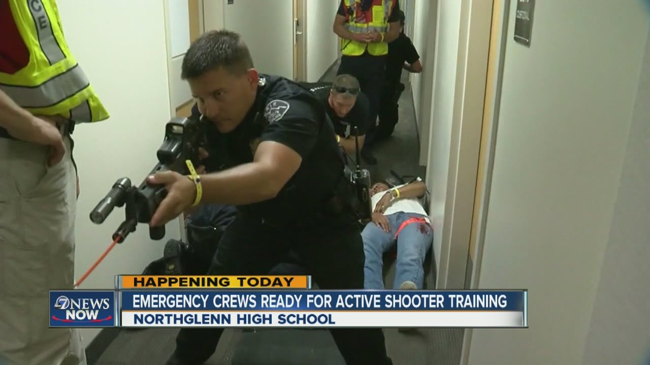 Active shooter training taking place at Northglenn High ...