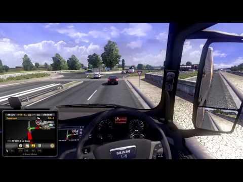 "Euro Truck Simulator 2  с ником ""кто больше тот и прав"""